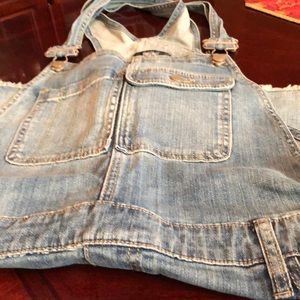 Like new -rarely worn short overalls